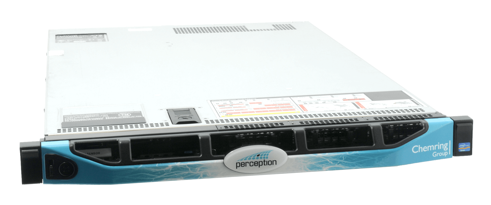 Perception sensors are easily deployed, consisting of a 1U rack mounted device.