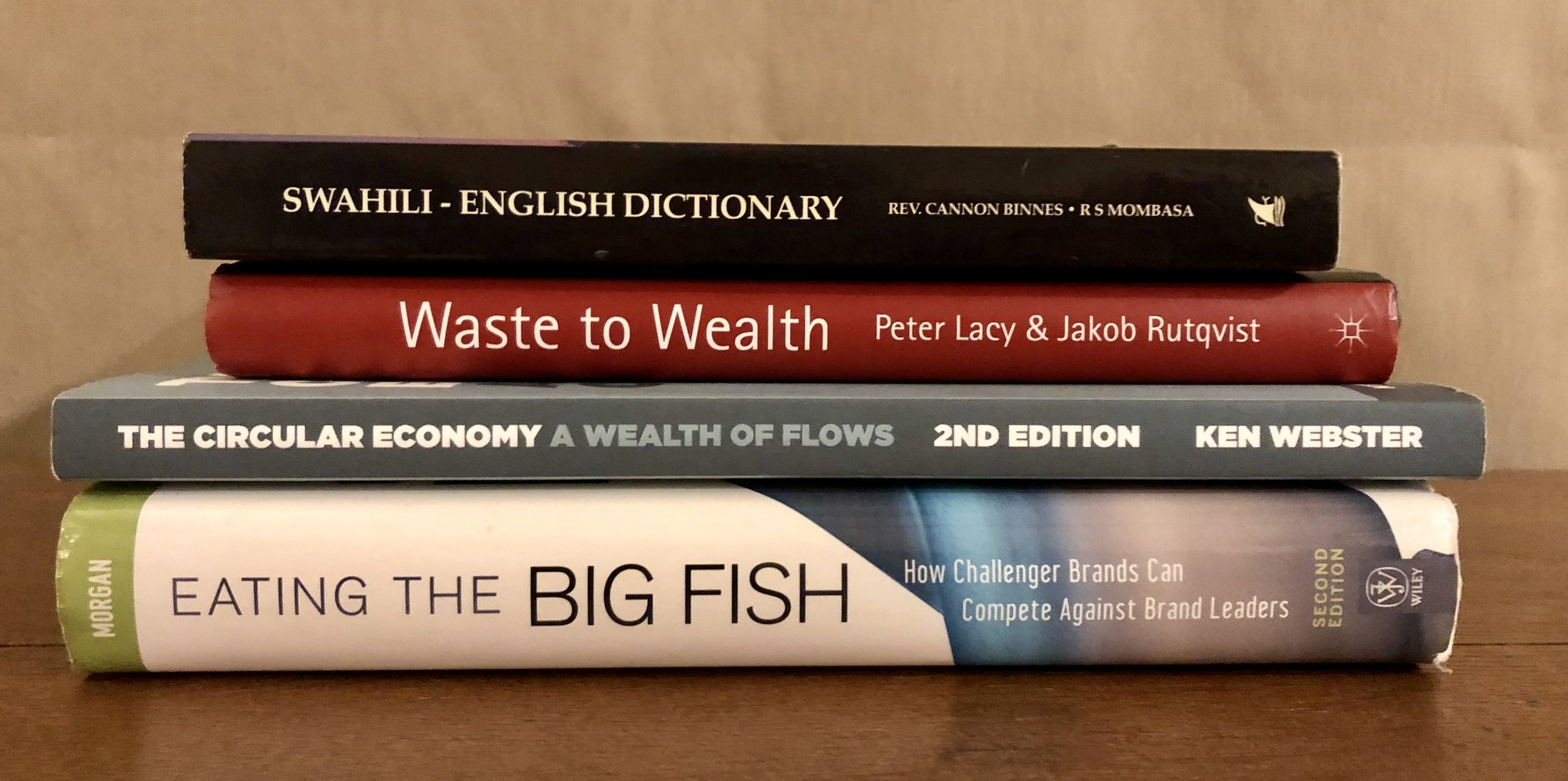 holiday reading #circulareconomy #challengerbrand #languagerefresher