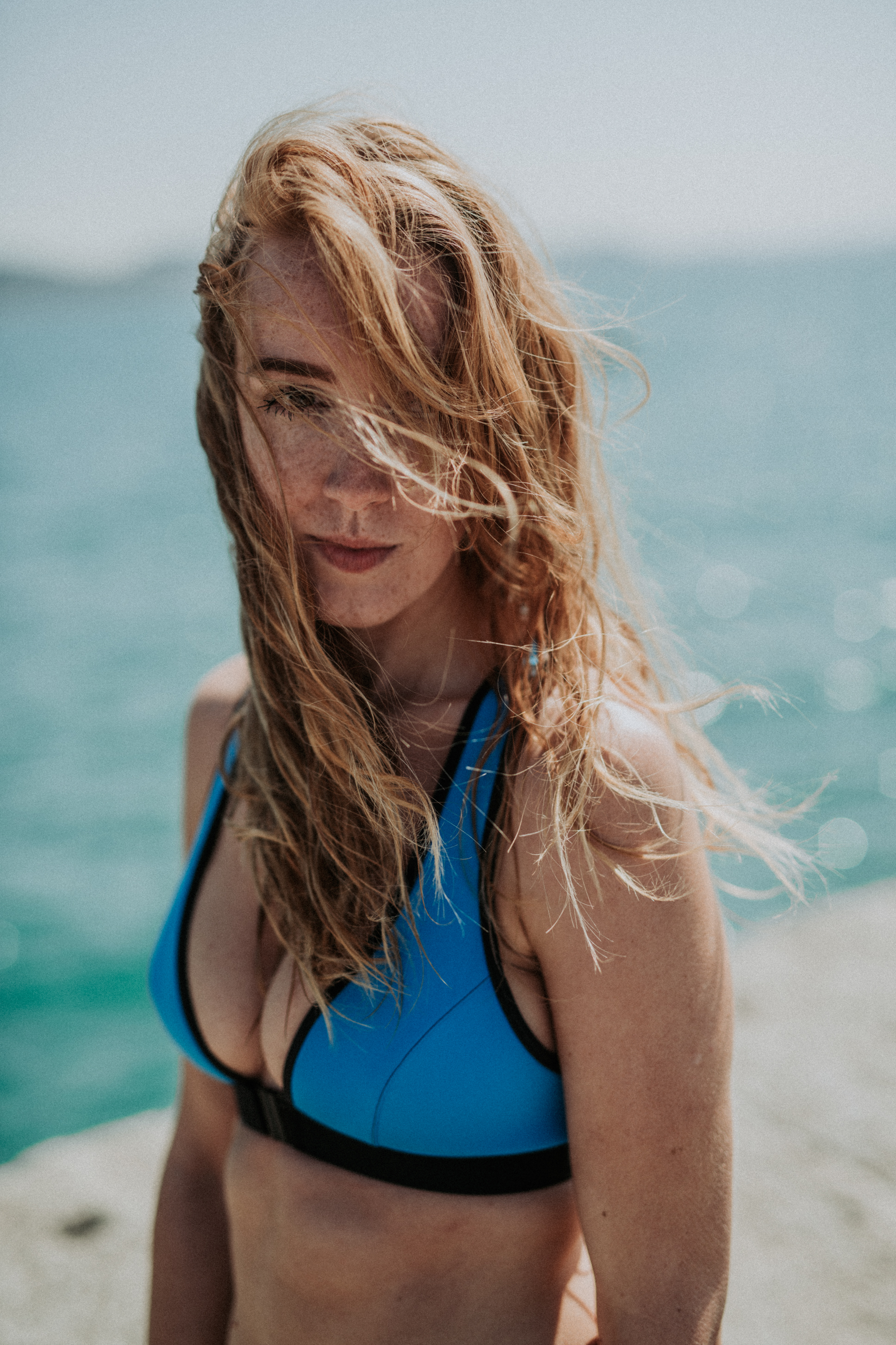 Davy J Blue Bikini