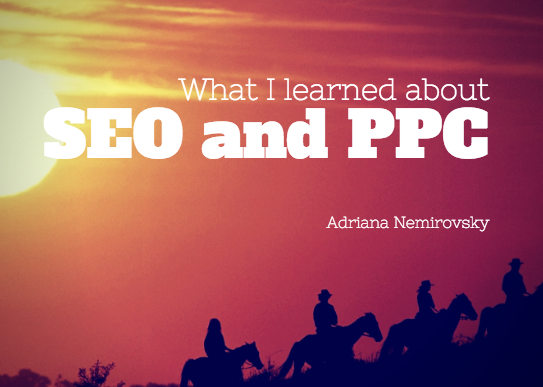 My presentation on SEO and PPC