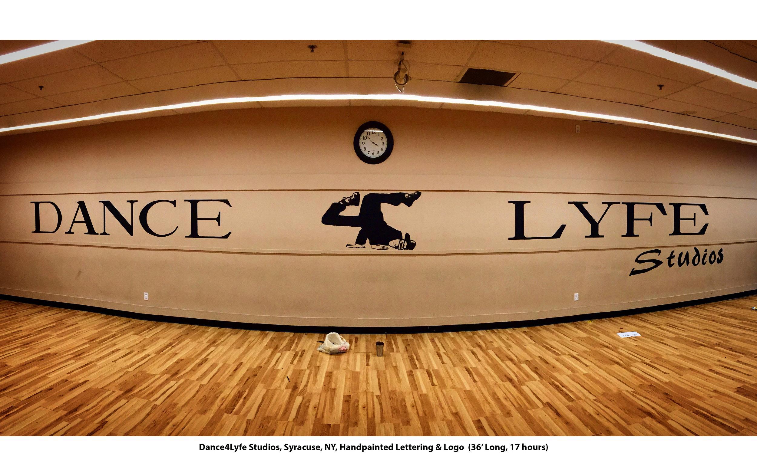 Dance 4 Lyfe Wall Mural