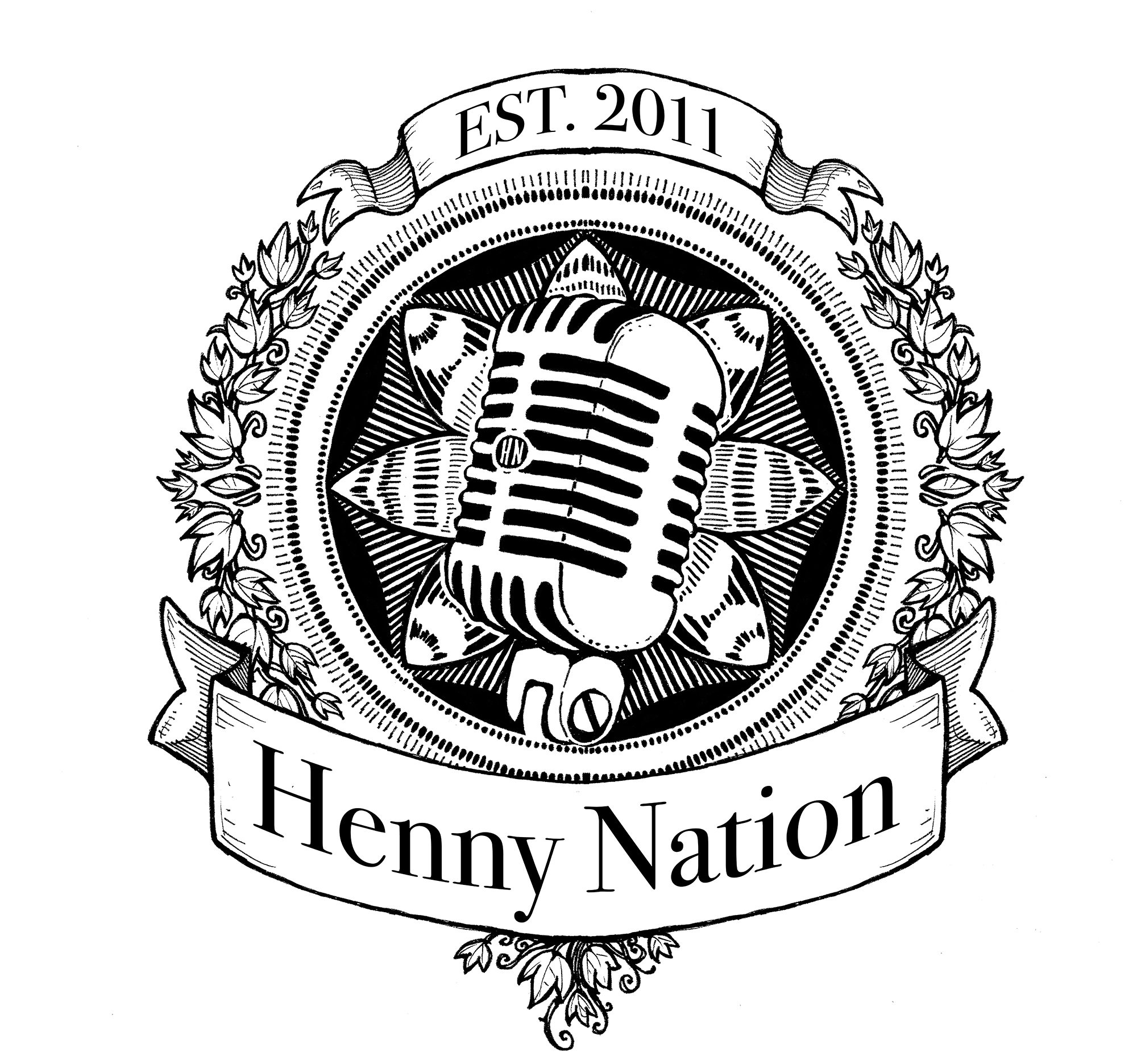 Henny Nation Band Logo