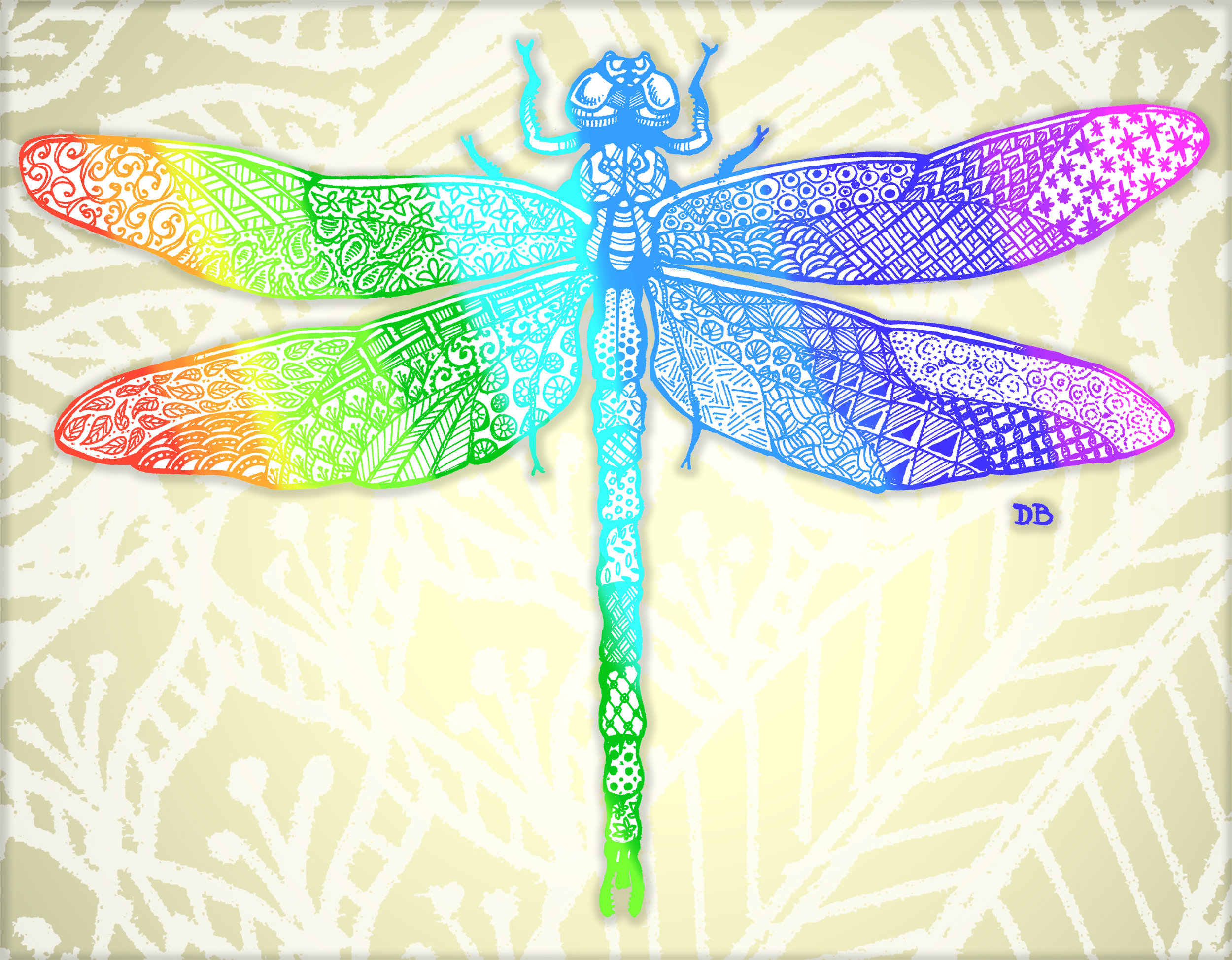Zen Dragon Fly