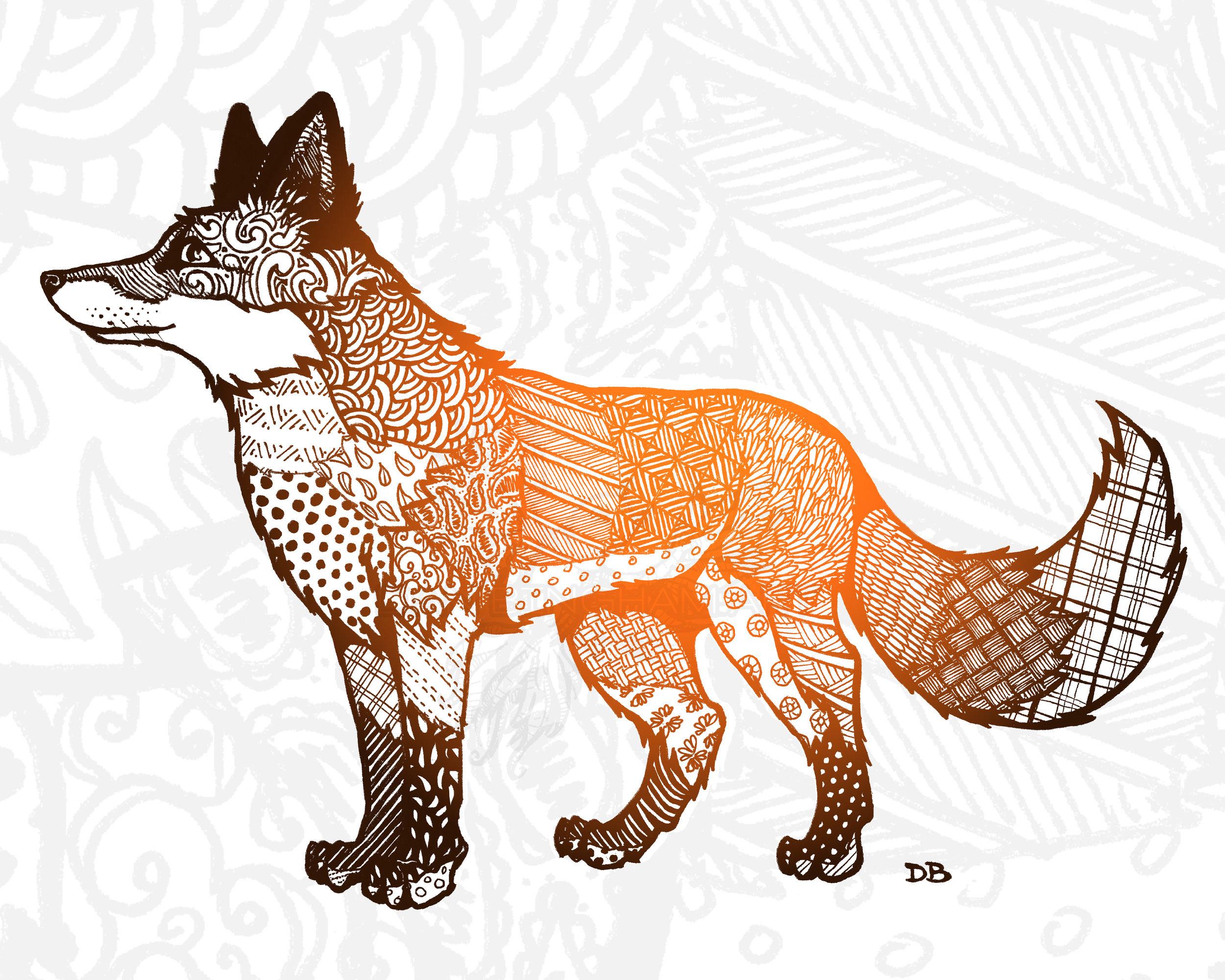Zen Fox (Standing)