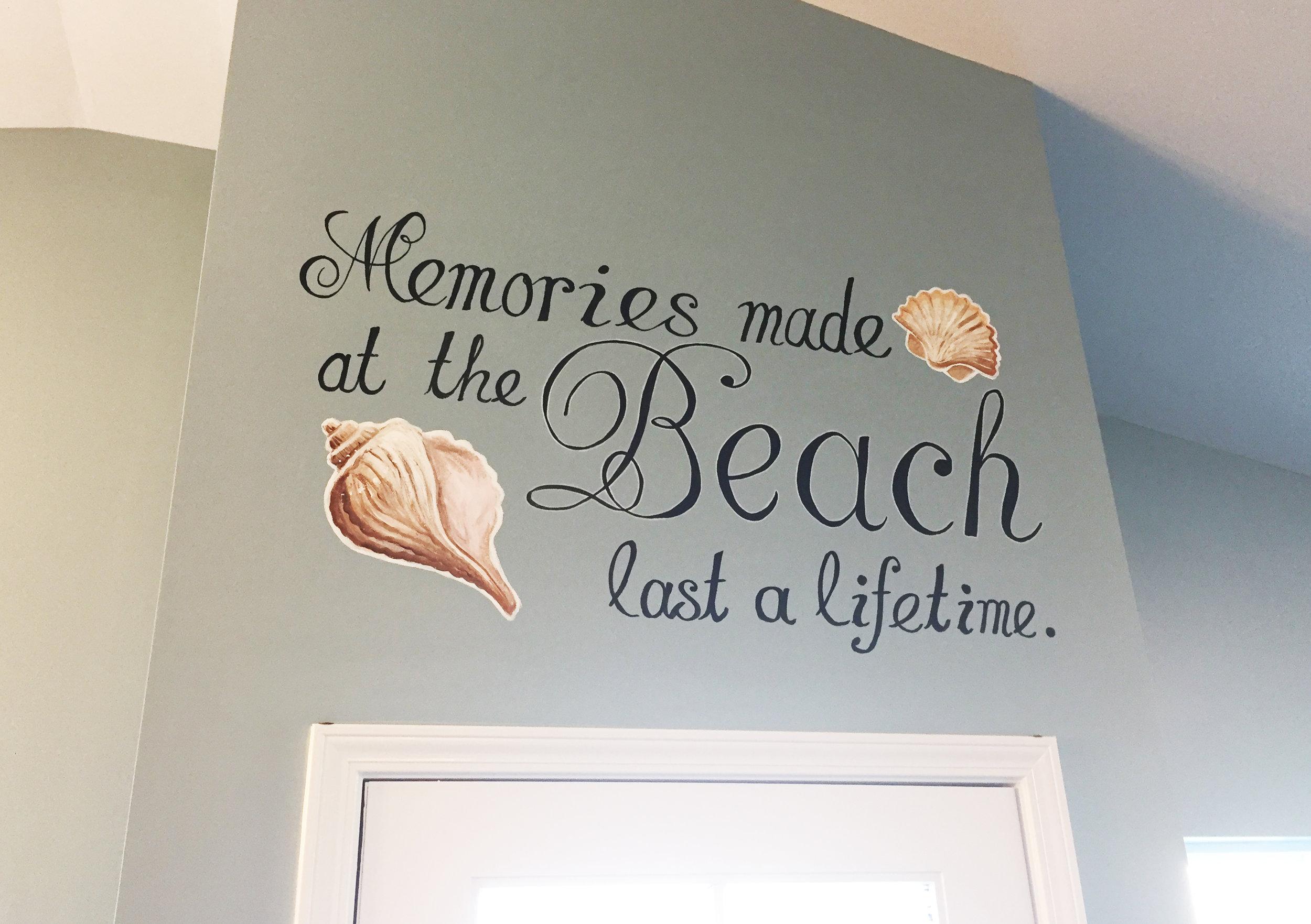 Beach Memories Mural