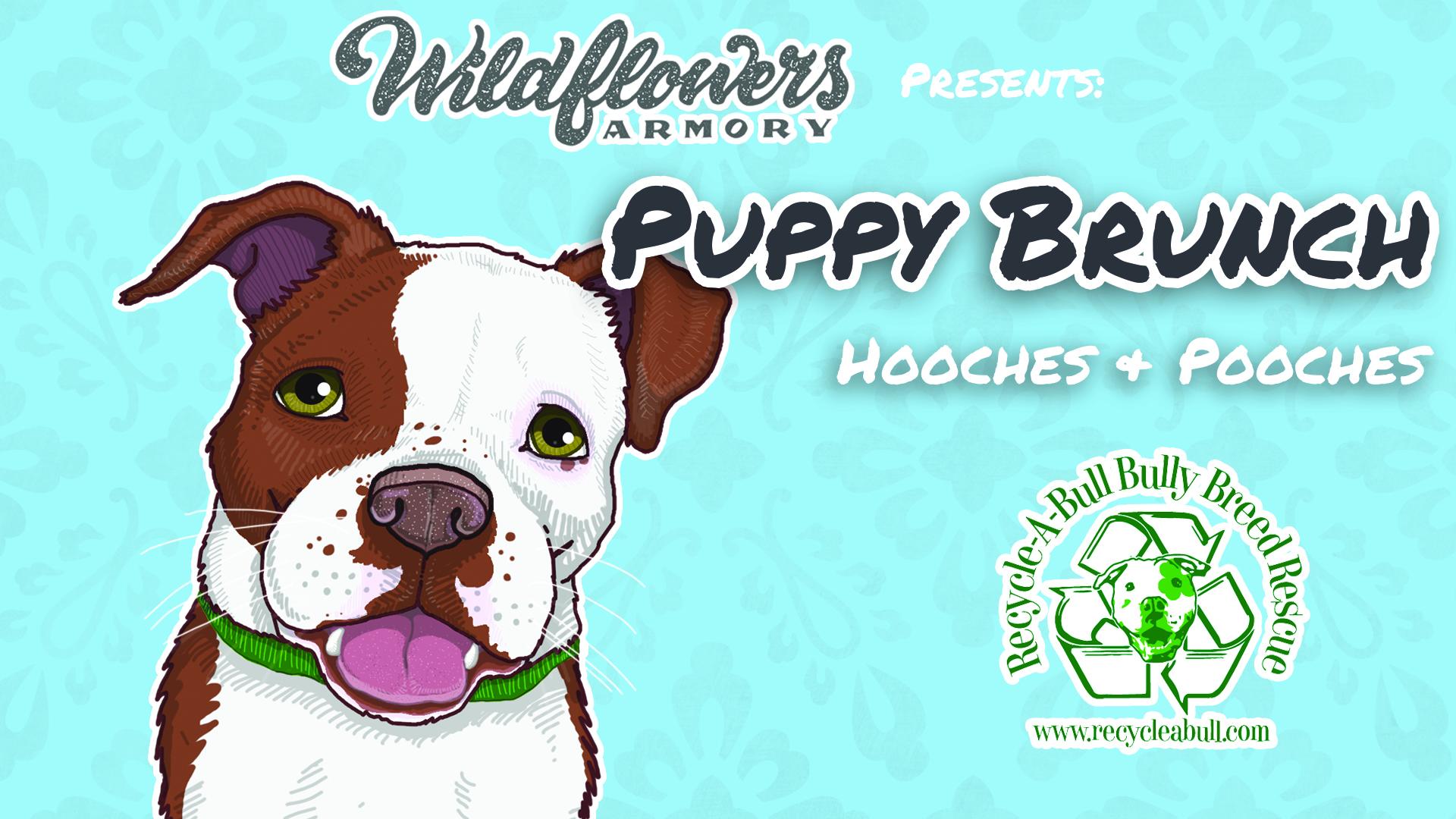 Puppy Brunch 2 Event Flyer