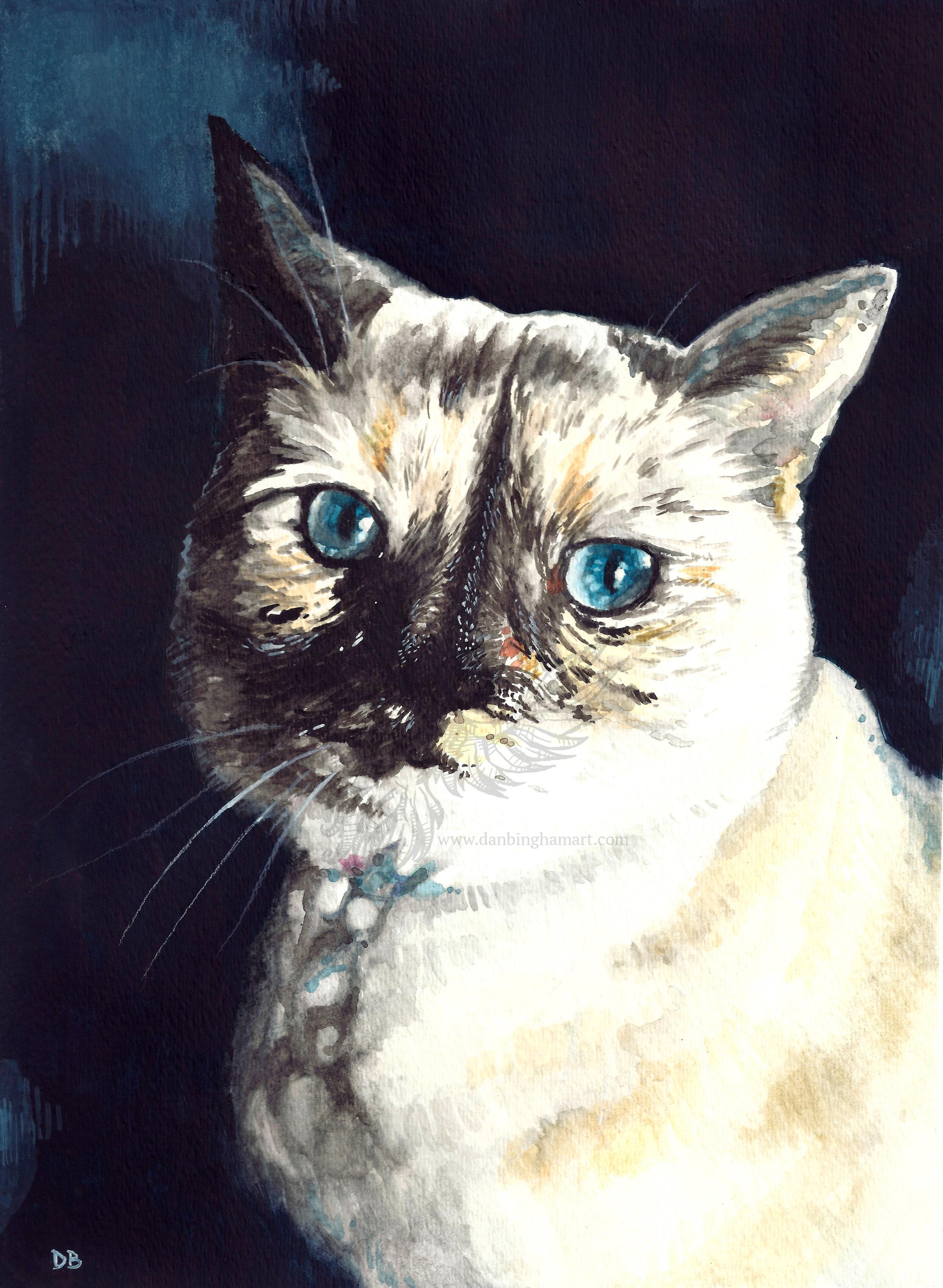 Junn Pet Portrait Commission