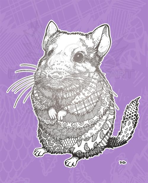 Wade Zen Pet Portrait Commission