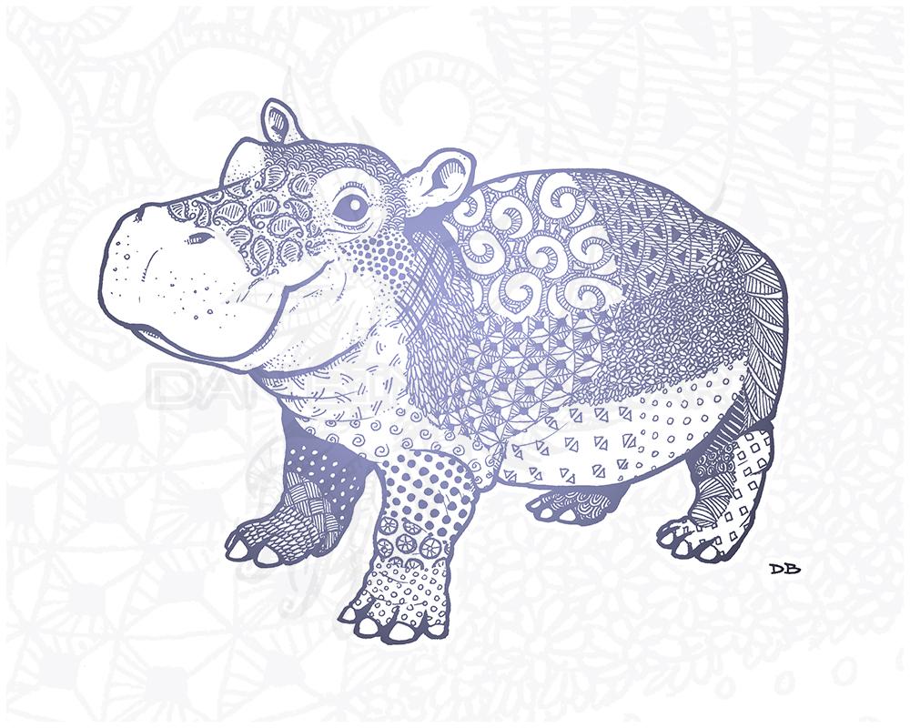 Zen Baby Hippo