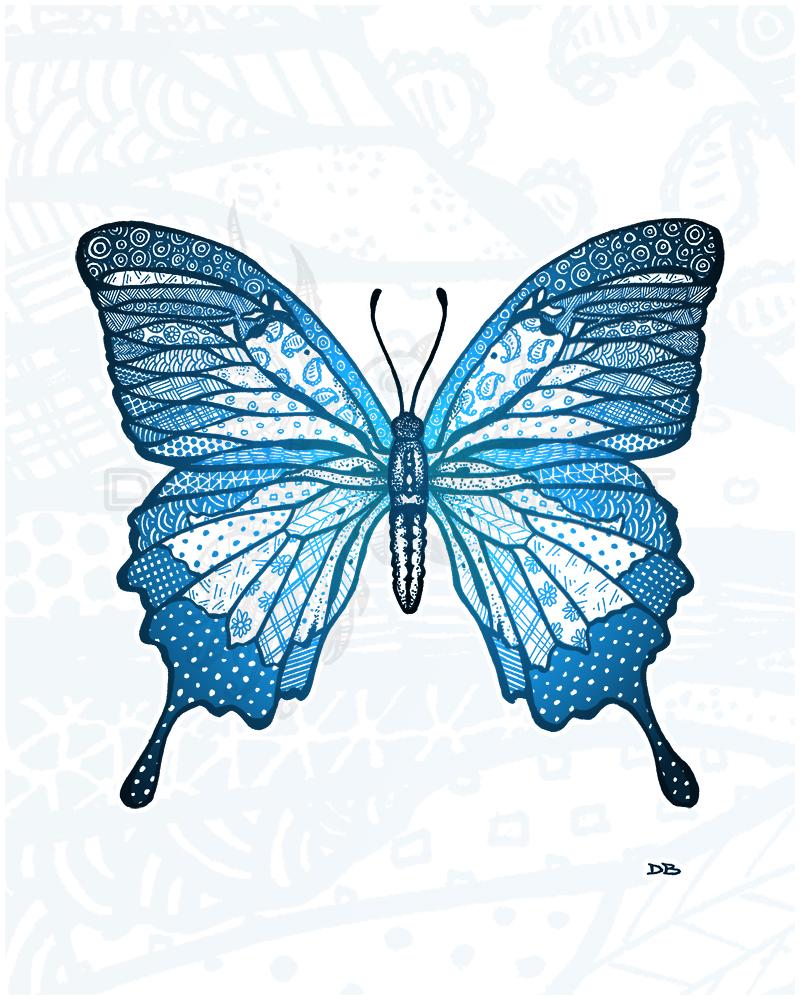 Zen Swallowtail Butterfly