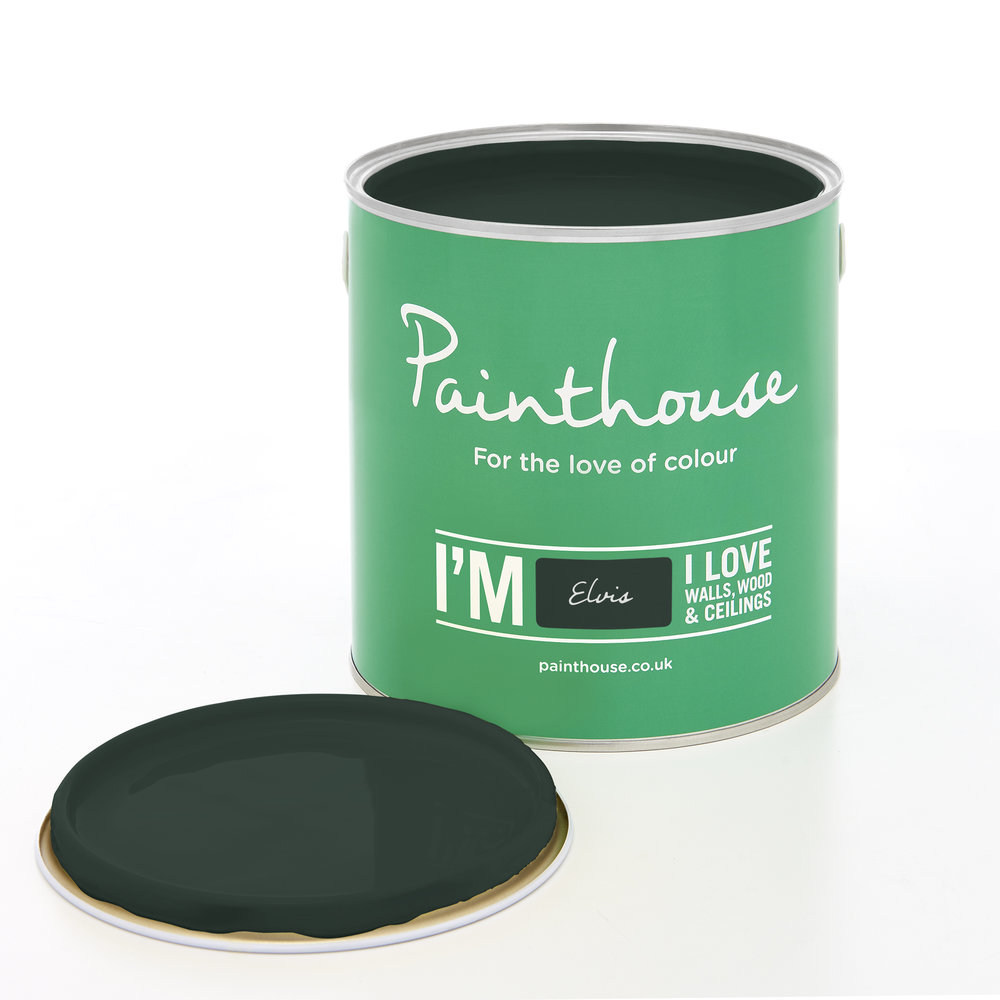 Elvis - From the Luxe PaletteUsing Black within your interiors is Exclusive, Prestigious and LuxeAvailable from Atom Paint House