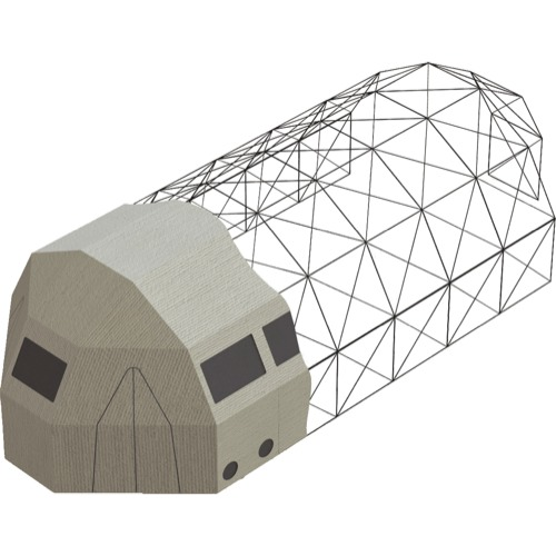 Trailer Logic Model 6A Shelter