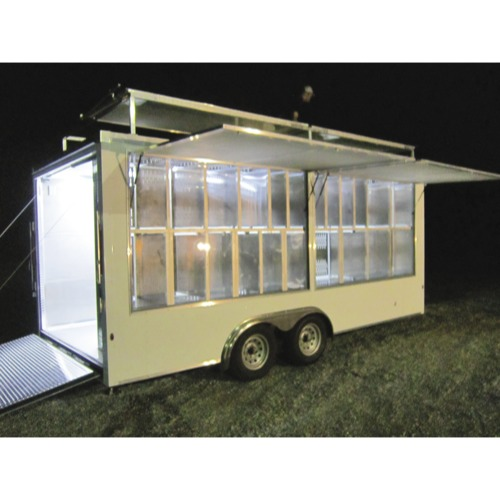 Trailer Logic Pet Care/Disaster Relief Trailer PAckage