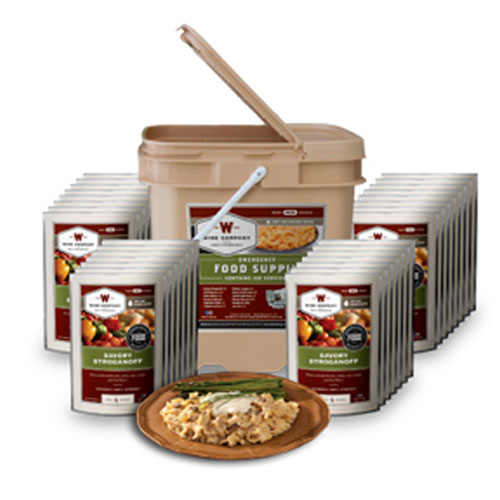 Wise 120 Serving Entree Only Grab & Go Bucket