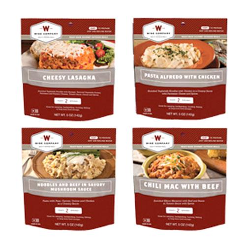Wise Gourmet Outdoor Sampler Meal Kit