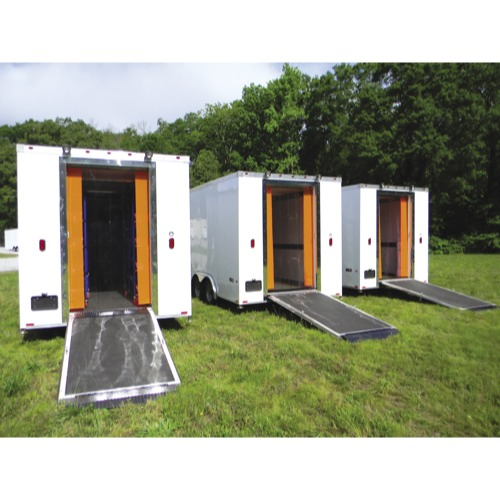 Mortuary Response Solutions Customized Refrigerated Morgue Trailer