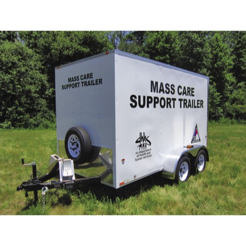 Mortuary Response Solutions Evacuation and Support Trailer Package