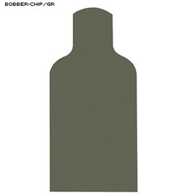 Chipboard Military E-Silhouette Bobber Target