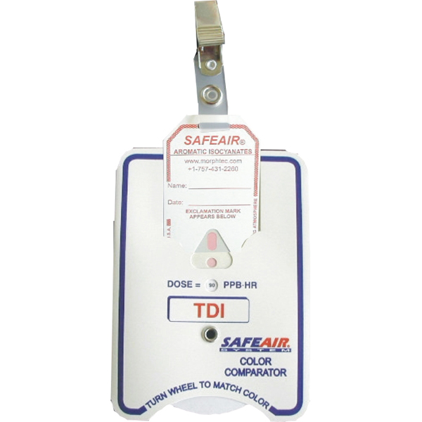 SafeAir Chemical Detection Badges