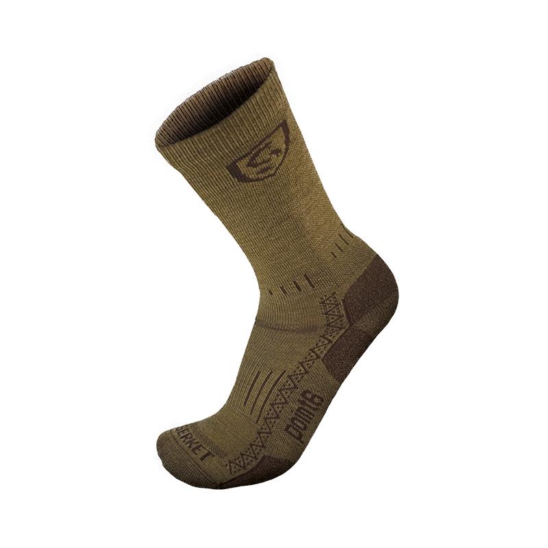 Tropical Crew Merino Wool Boot Sock
