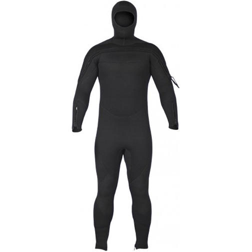 Special Ops/SAR Semi-Dry Jumpsuit with Hood