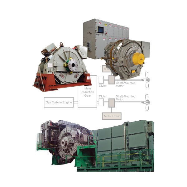 Electric and Hybrid Electric Ship Propulsion Systems