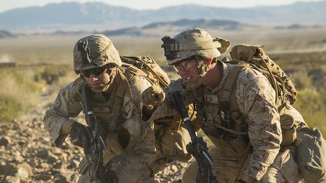 U.S. Marine Corps photo by Lance Cpl. A. J. Van Fredenberg via  Flickr