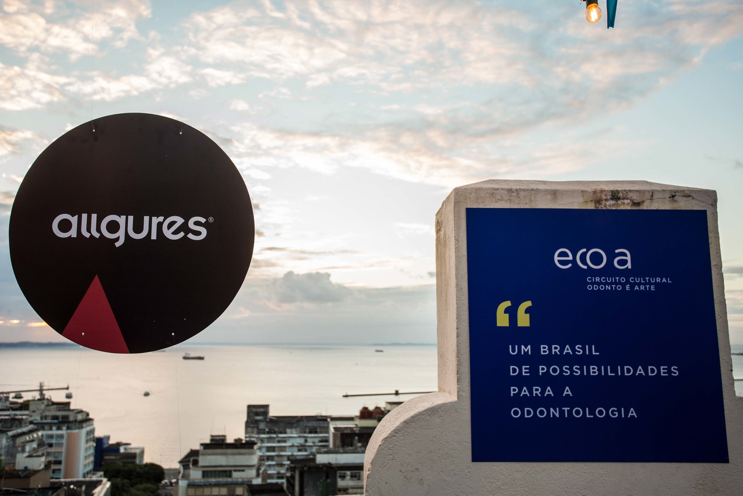 """móbile @allgures e tema do ecoa #1:""""Um Brasil de possibilidades para a odontologia"""""""