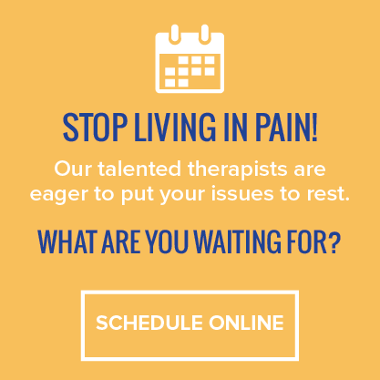 Stop living in pain! Our talented therapist are eager to put your issues to rest. What are you waiting for? Schedule Online