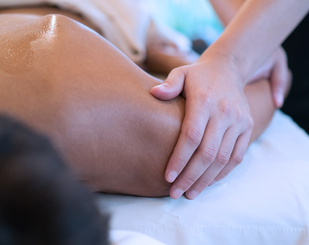 Active Spine & Sport's massage therapist helps keep you pain free and active.