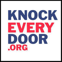 Knock every door - Knock Every Door is an organization that recruits, connects and trains volunteers to start conversations about the progressive change our country needs.