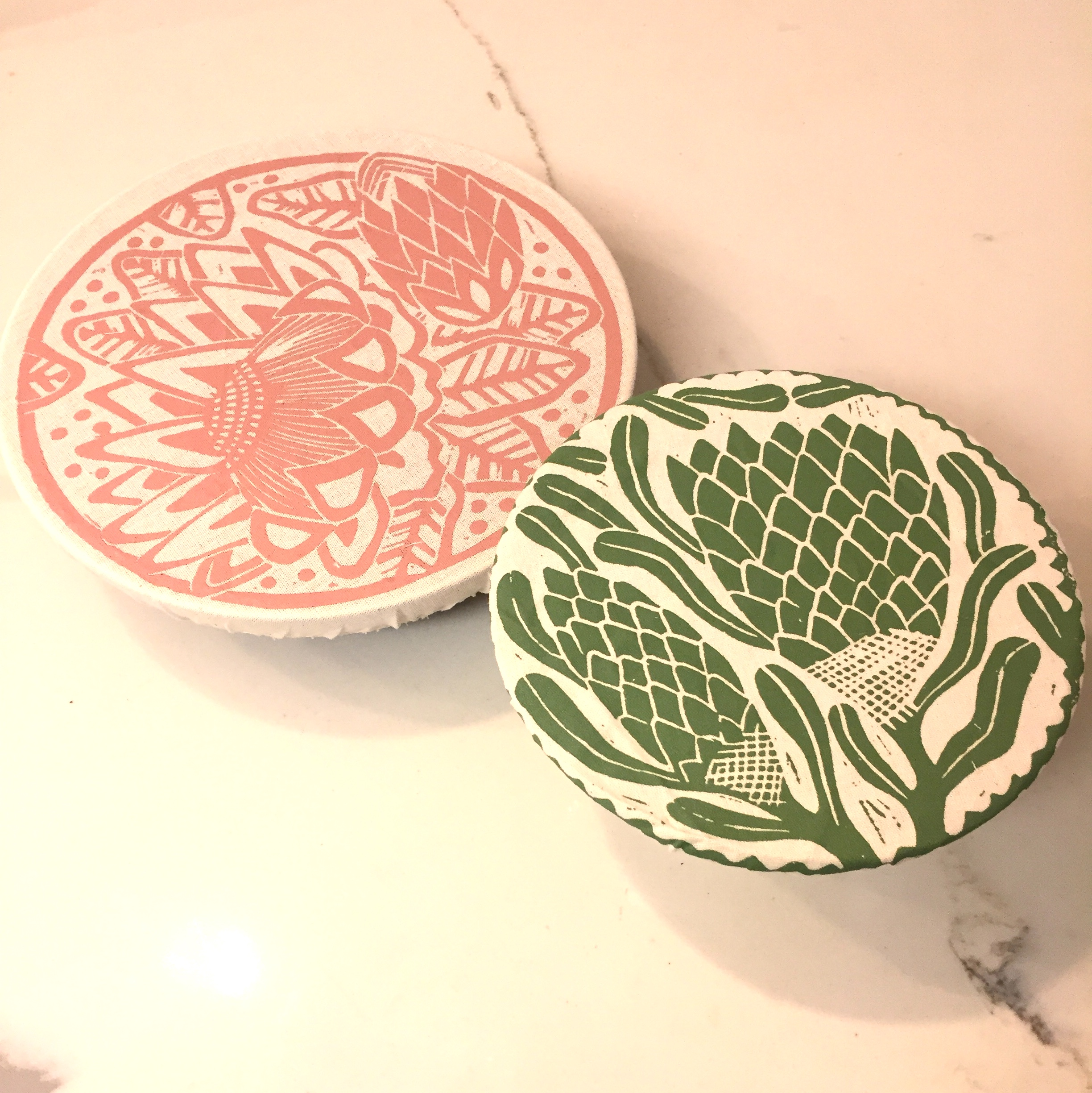 Reusable Bowl Covers - Say goodbye to plastic wrap and introduce these fine products into your life. They look like shower caps but are designed to cover bowls and store leftovers. Mine came from a friend who traveled to South Africa so they're extra special but you can order yours from Amazon and make up a romantic story, if you choose.