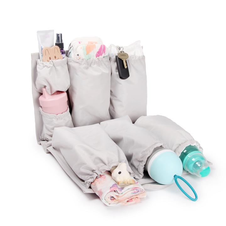 A Tote Savvy Diaper Bag Insert - Imagine if you could turn your favorite backpack or ripped tote into a diaper bag. Well, you can! Dream come true?