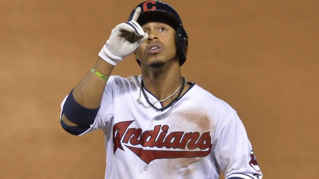 Cleveland Indians Shortstop Francisco Lindor is known for praising God for his baseball success.