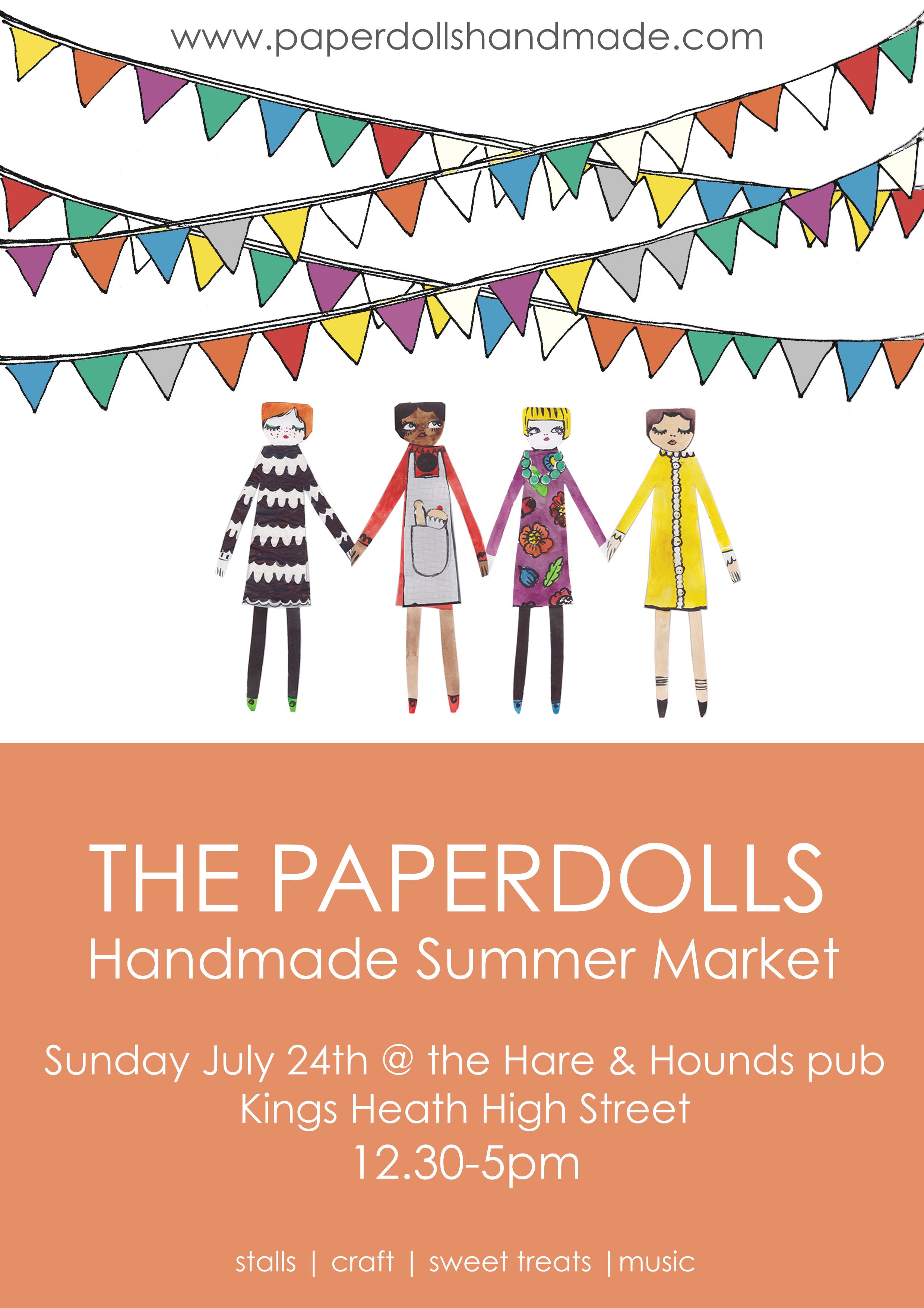 Paperdolls Handmade | Summer Market 2016