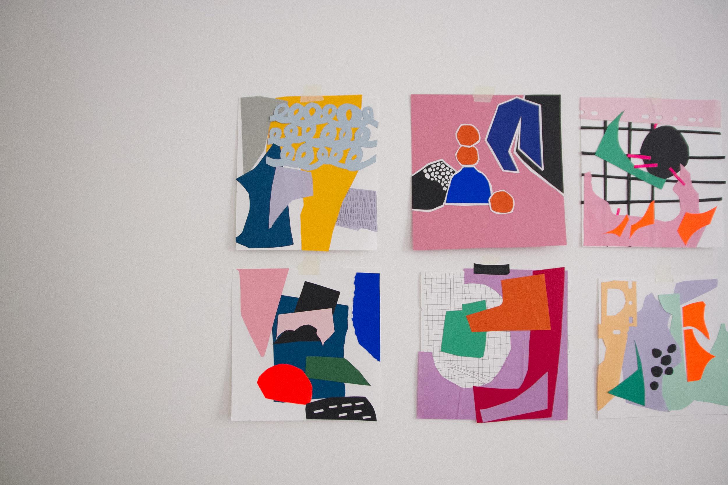 Sarah Fennell - Studio Tour | The Paperdolls