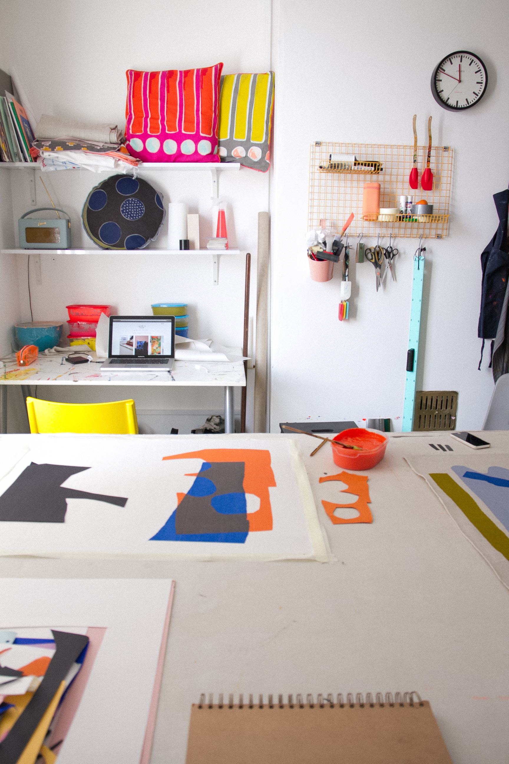 Sarah Fennell - Studio Tour | The Paperdolls