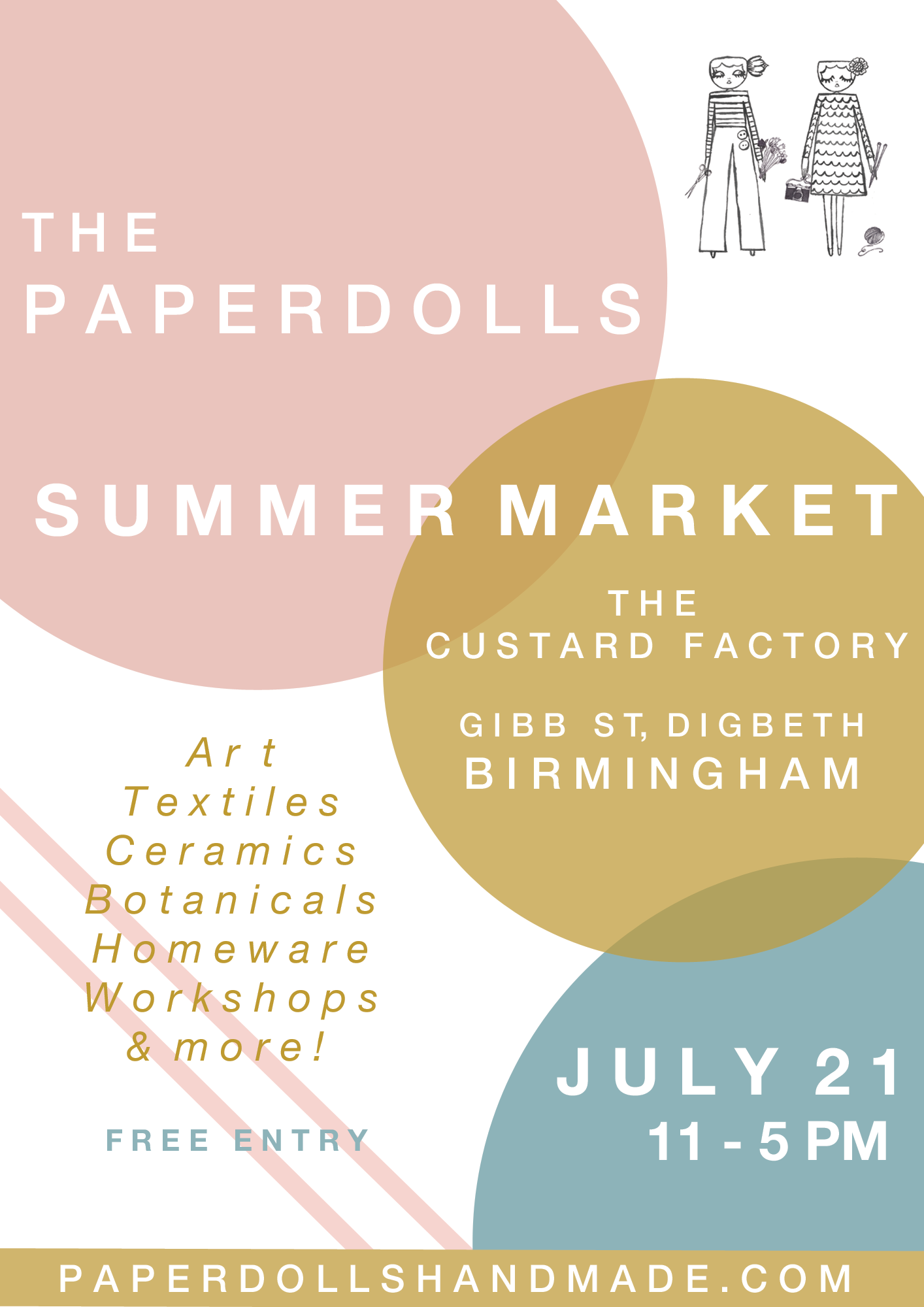 THE PAPERDOLLS SUMMER MARKET 2018