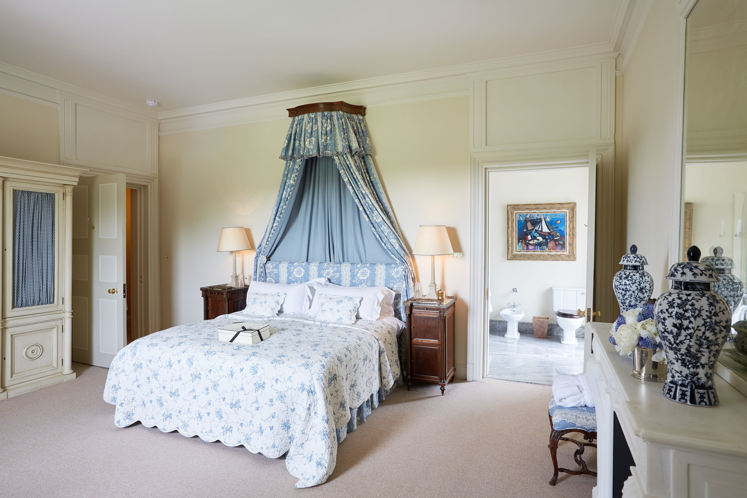 Tryingham Hall rooms