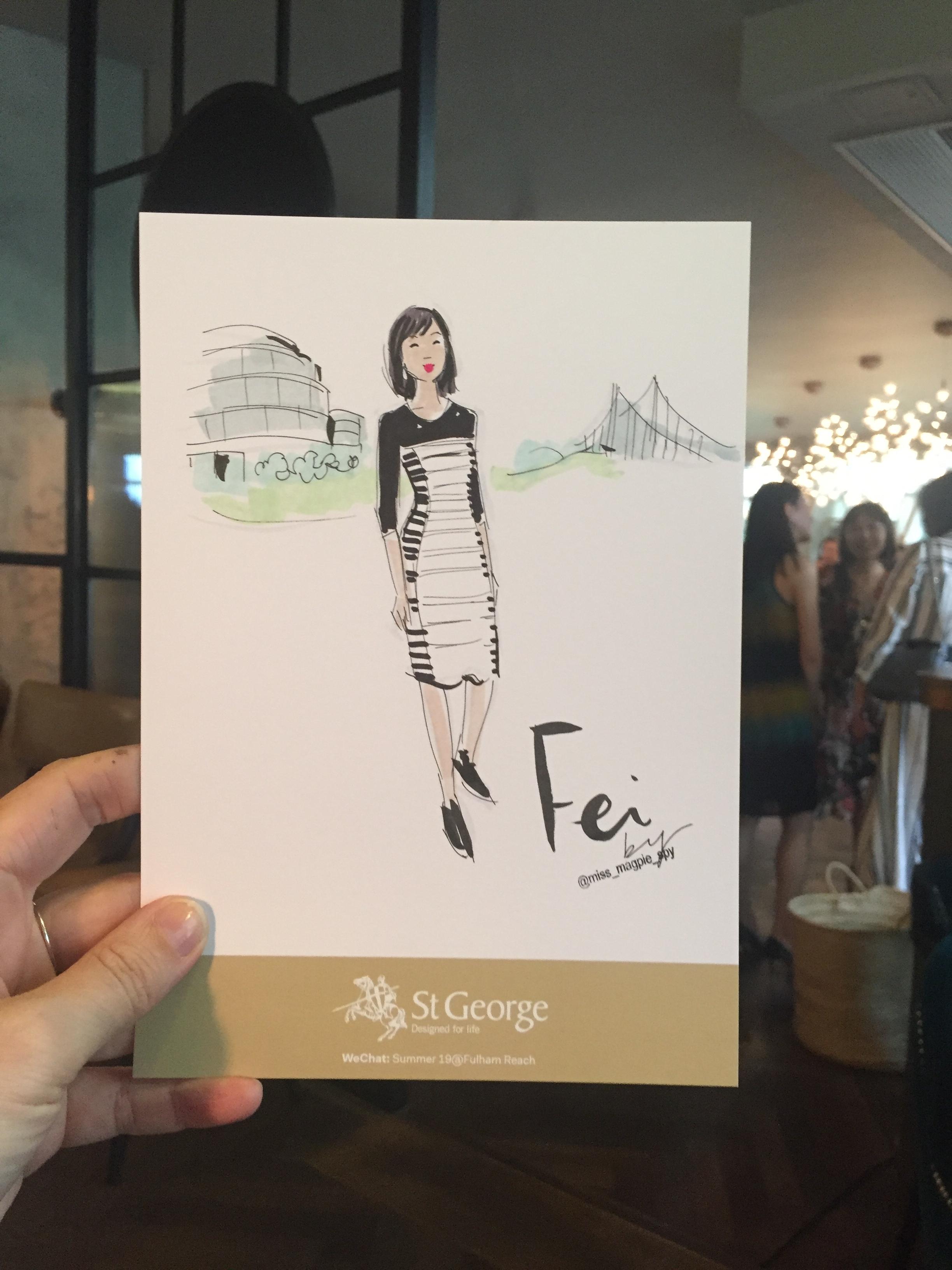 fashion illustration live