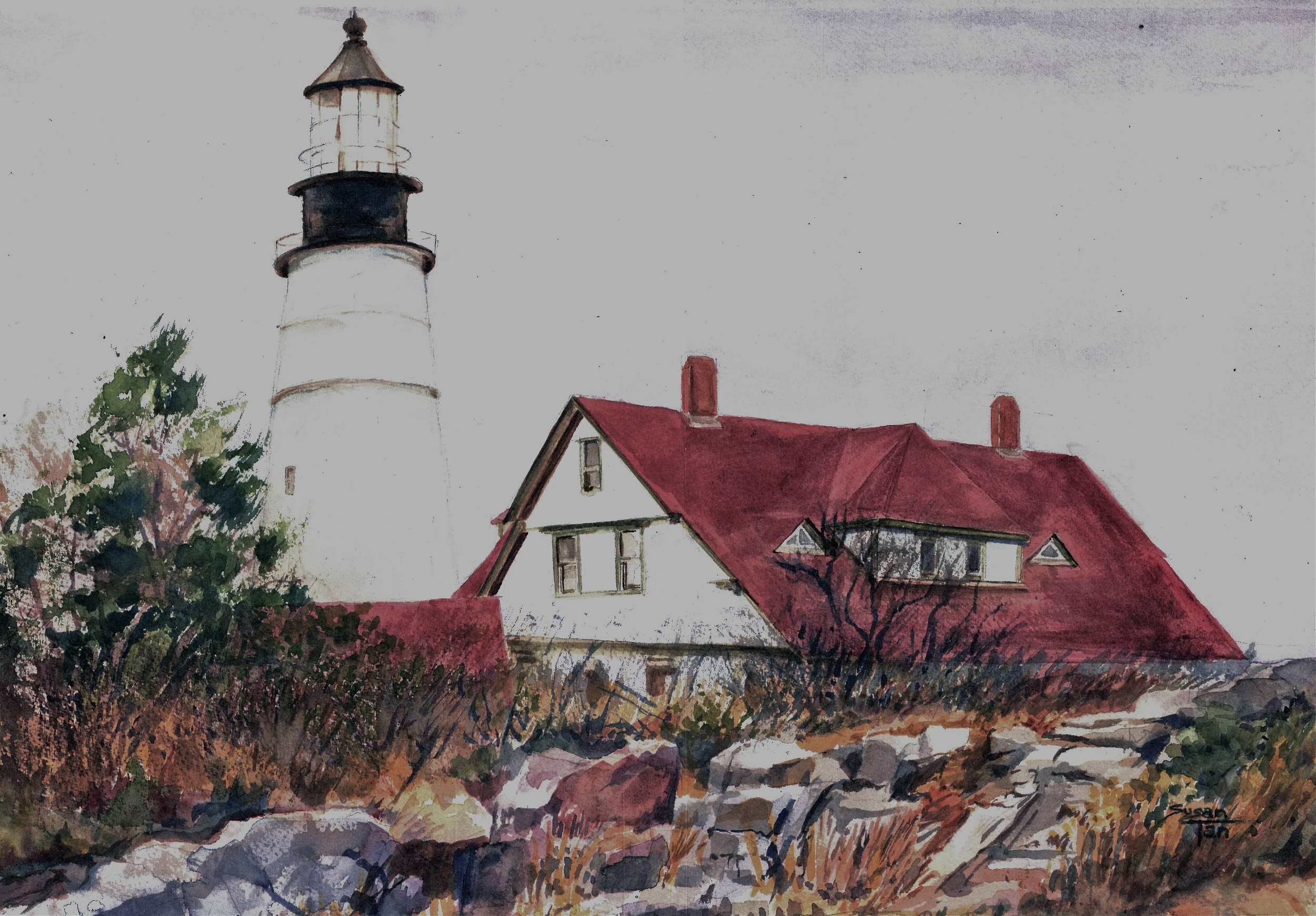 Longfellow's Lighthouse