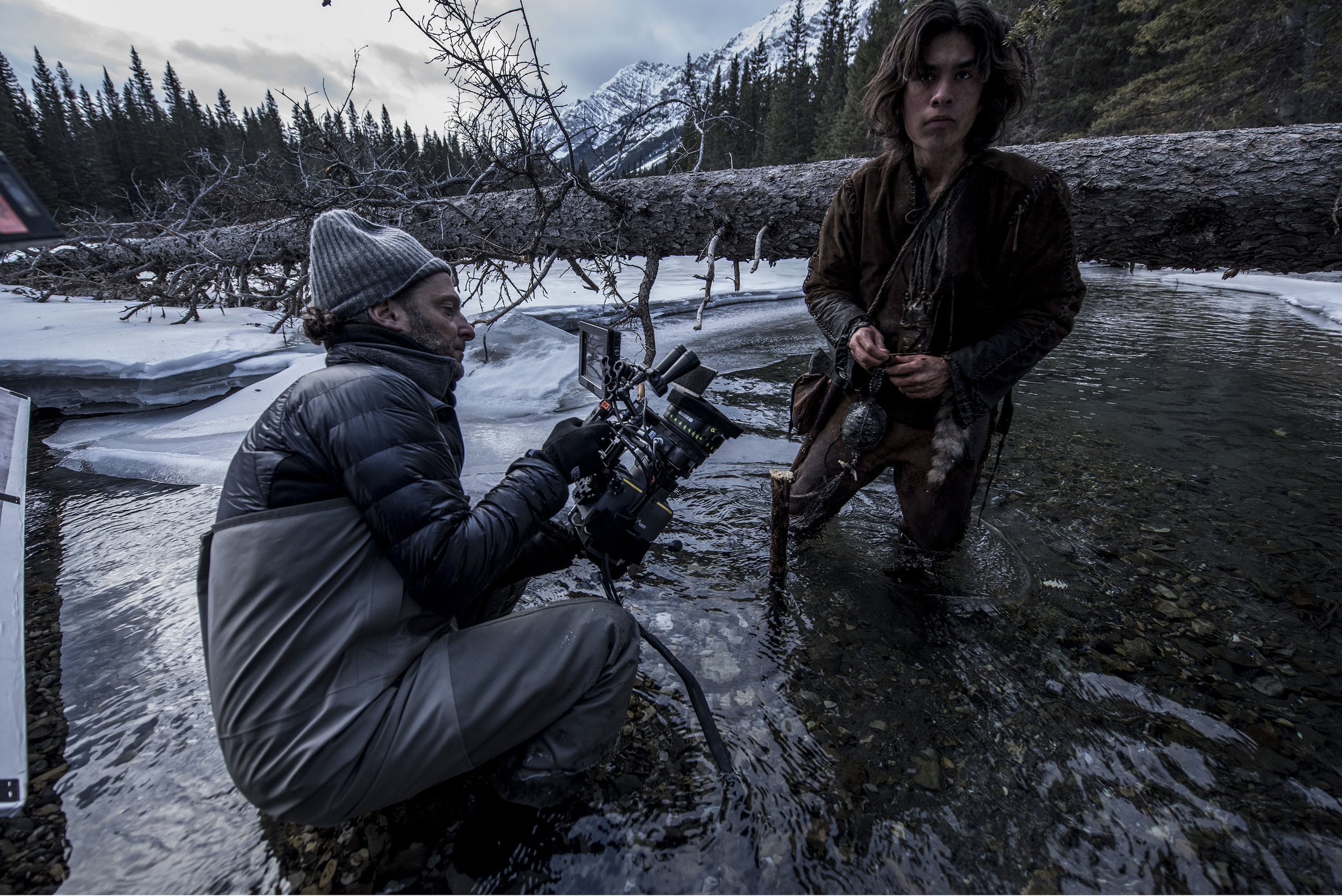 Emmanuel Lubezki, filming The Revenant. The digital sensor was one of many creative choices that gave the film its distinct tone. Credit: Kimberly Finch