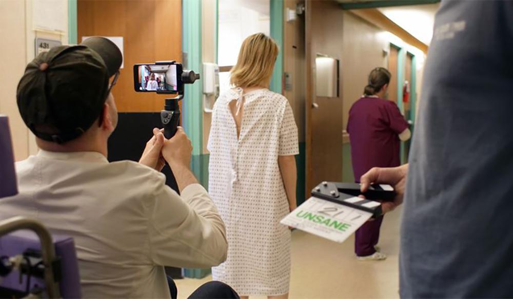 Director Steven Soderbergh shot on an iPhone 7 in Unsane. Credit: Fingerprint Releasing/Bleeker Street