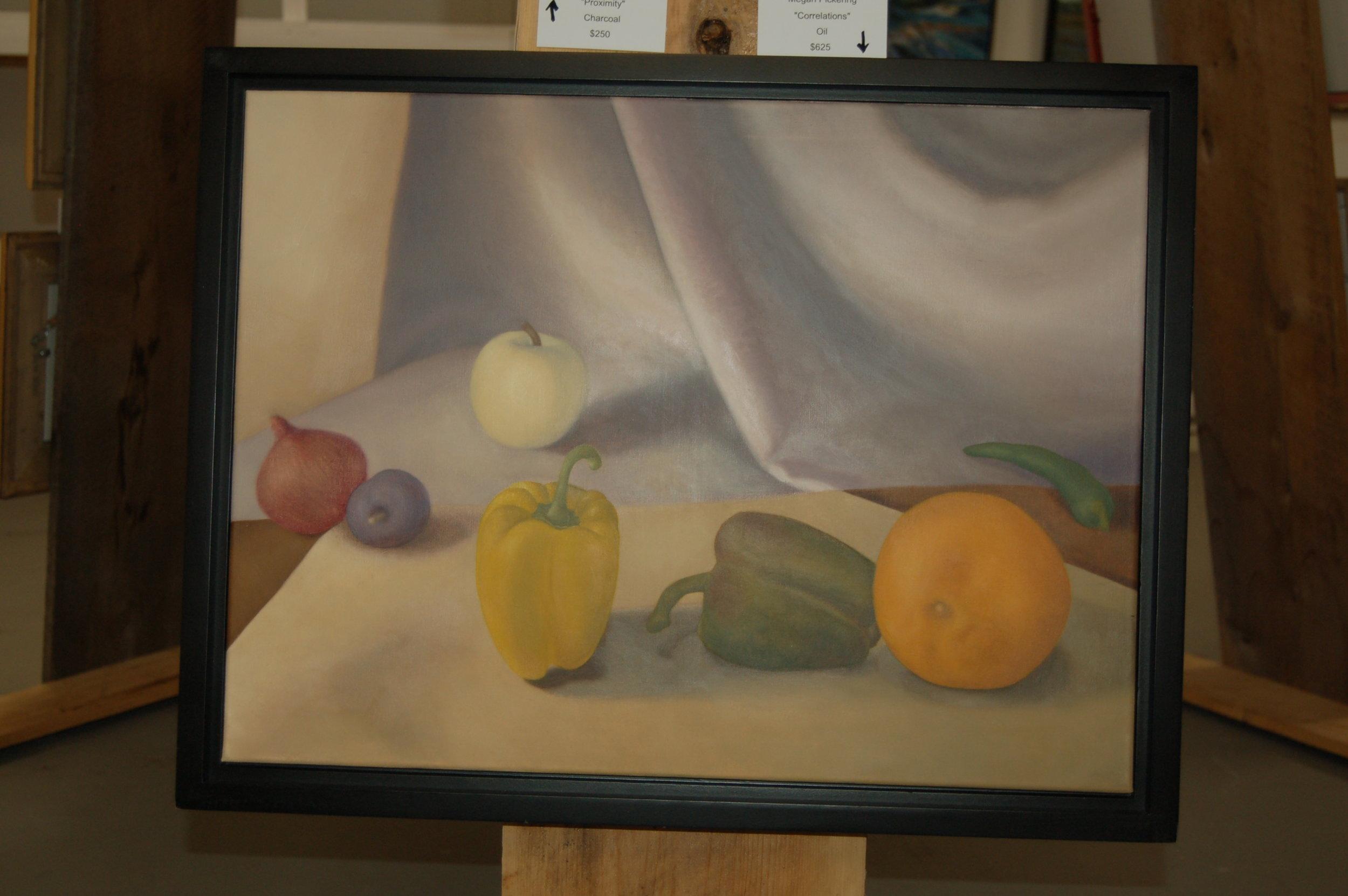 One of Megan Pickering's still life paintings.