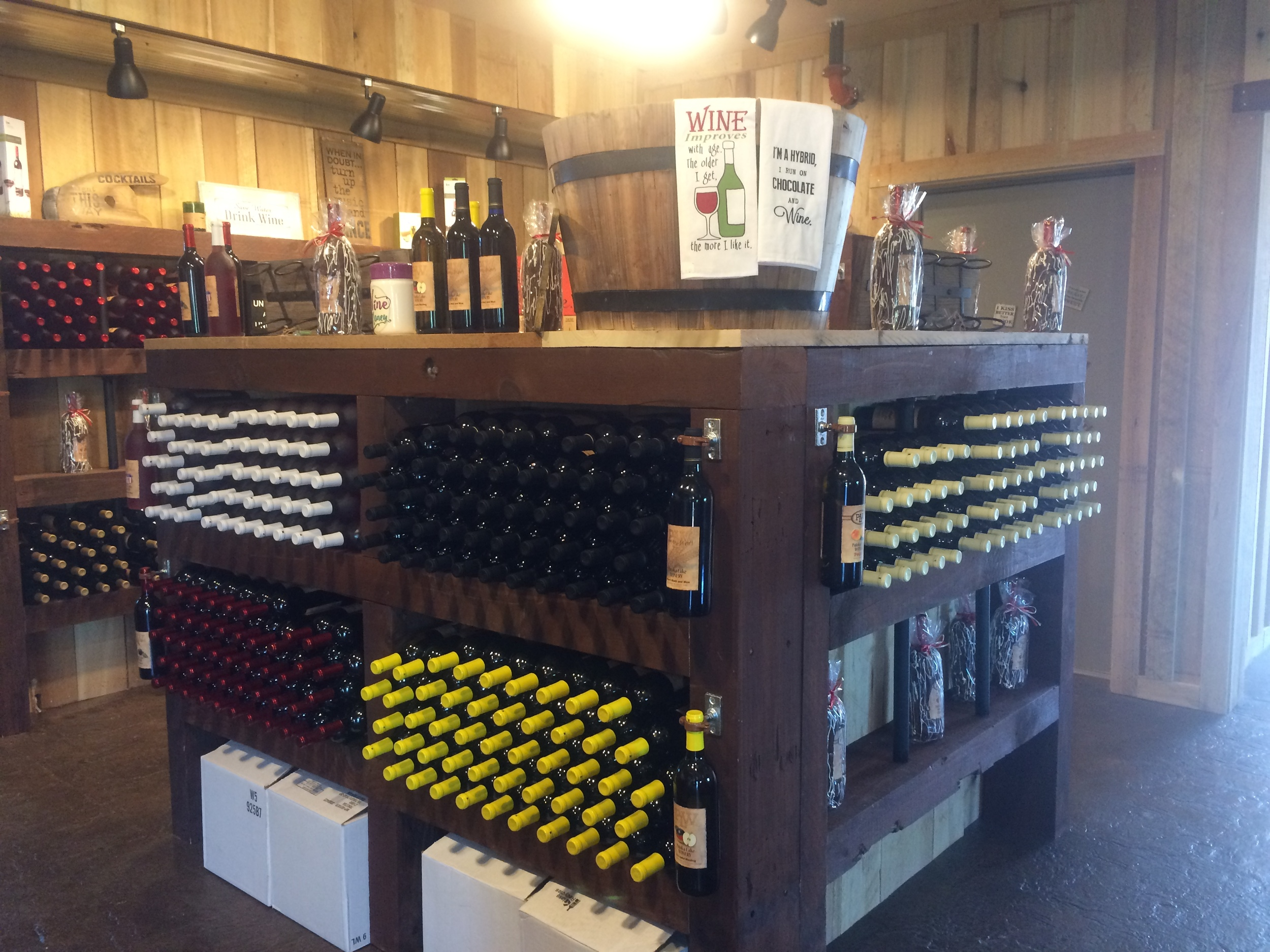 Bottled wines for sale