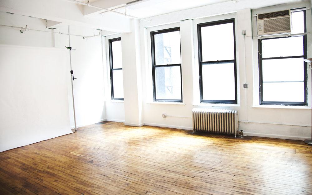 Photography studio in Manhattan, NYC