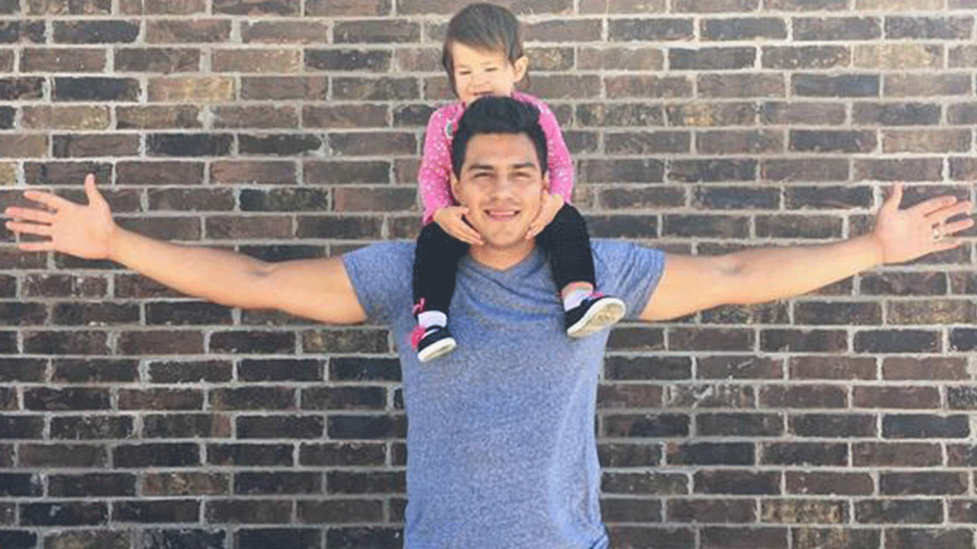"""Healthy manhood is being a present father."" — @vanessamartinez"