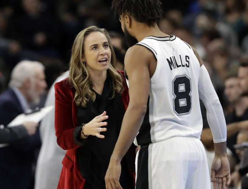 Becky Hammon, Assistant Coach for San Antonio Spurs, is also visible in athletics.