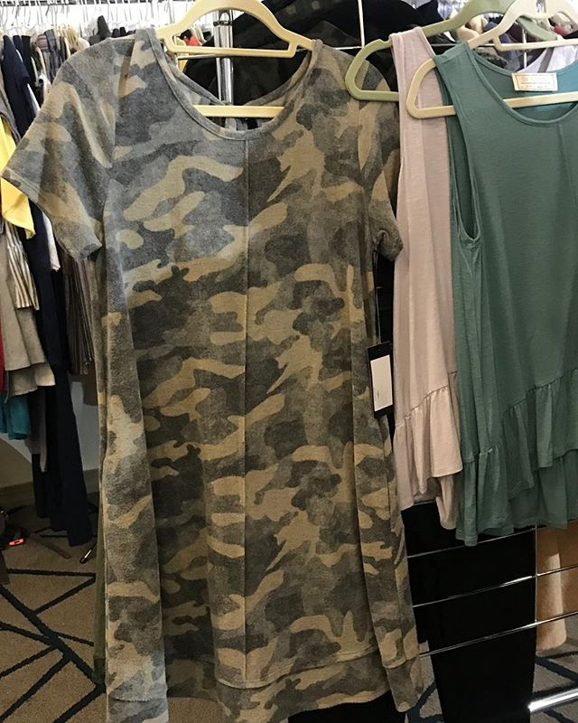 Did a little buying today.  I know you ladies who love Camo are going to love us for this one!!! Soft and Comfy and so darn adorable!!! Arriving soon.