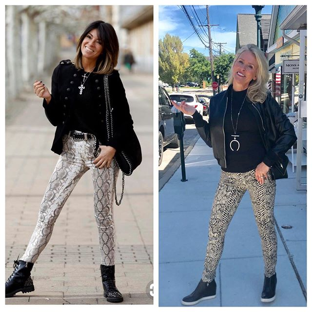 What do you do when your looking for style inspiration photos?  Well, we scoured the boutique and came up with a very similar look.  It's fun to play dress up!